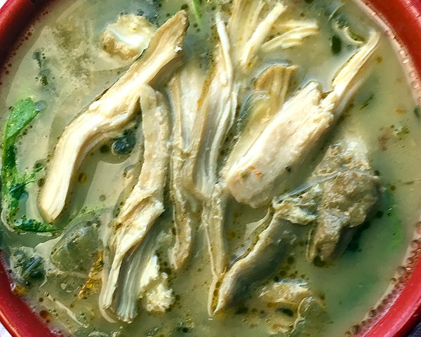 Instant Pot Chicken Florentine Soup